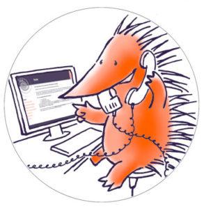 egel aan de PDS-infolijn