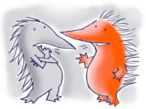 egels praten